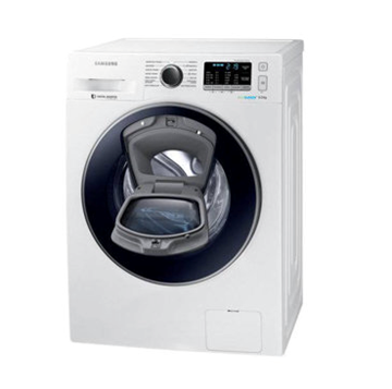 Resim Samsung WW90K5410UW/AH A+++ 9 Kg 1400 Devir Beyaz Çamaşır Makinesi